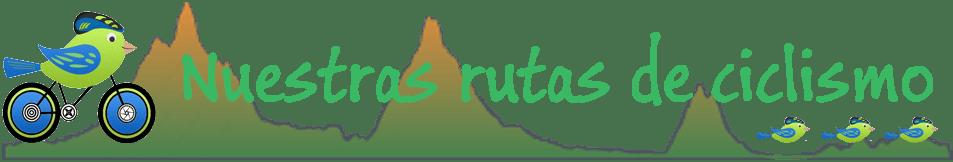 Rutas de ciclismo de montaña y carretera de la Comunidad