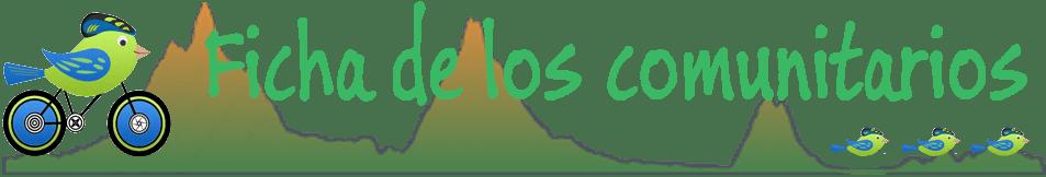 Ficha de los comunitarios