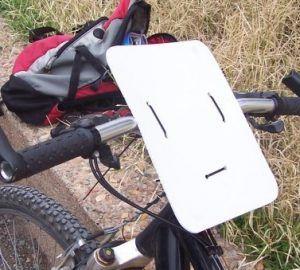 Mapa OBM en bicicleta