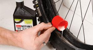 Añadir líquido sellante