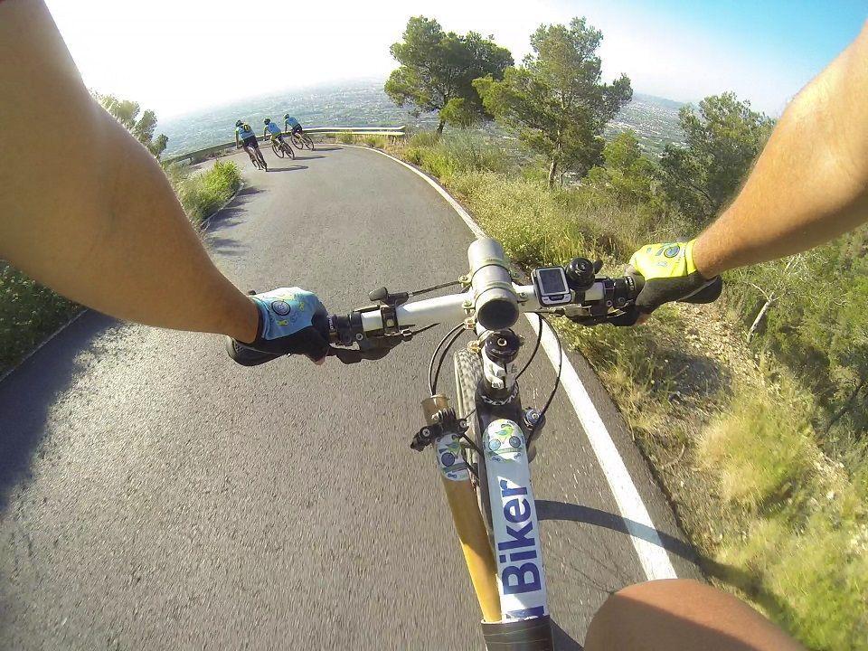 Crónica ruta MTB Molina Relojero Subida por Columnas Descenso por Cresta del Gallo regreso por Vía Verde