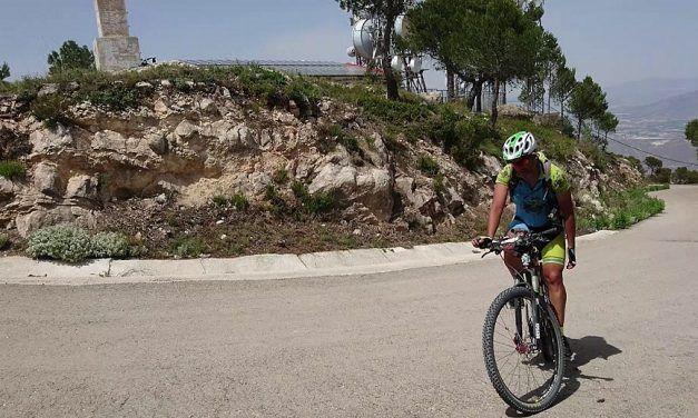 Crónica Ruta MTB La Mortal de Comunidad Biker MTB 1.0 con subida al Pico de la Pila y a Los Almeces antenas de Ricote