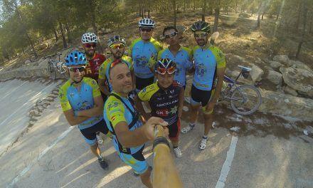 Crónica ruta MTB Molina Alguazas Vía Verde Noroeste Los Rodeos Campos del Río Albudeite Sierra de la Muela descenso adoquines