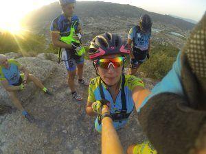 Patricia Carmona con la Caña Selfie