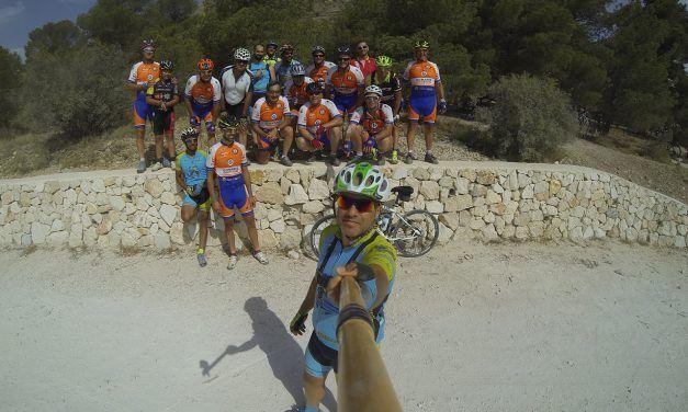 Crónica ruta MTB Orito Agost Vía Verde Maigmó Embalse de Tibi con C.C. Fortuna Team