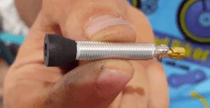 Tubelizado de rueda - Válvula especial para tubeless