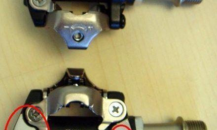 Nuevos pedales SPD Shimano XT M-8000 comparativa con los M-780