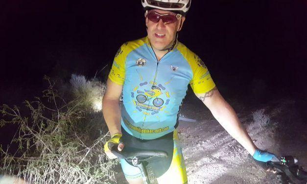 Crónica ruta MTB Nocturna por el Coto Cuadros Senda Toboganes Túnel  ametralladora Chorrico