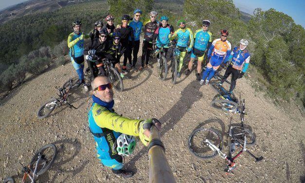 Crónica ruta MTB Molina Alcayna Rambla Monjas Sendero Fuente Calvario Grande Rambla Perro Ascenso Jamón Embalse Santomera Rambla del Agua Perdices y Conejos