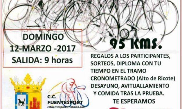 II Marcha cicloturista Albudeite Rio Mula