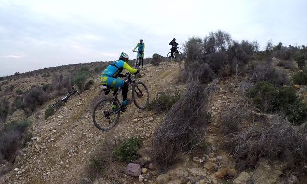 Crónica ruta MTB Iniciación a la técnica Polvorista Monte Aire Montes Ribera Cabezo Blanco Circuito Contraparada