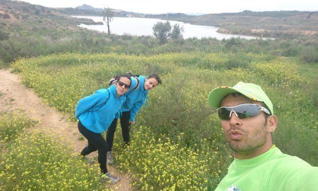 Crónica de la ruta de senderismo rodeando el Embalse de Santomera haciendo un poco de exploración