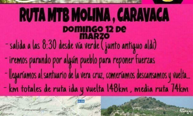 Ruta MTB Molina – Caravaca