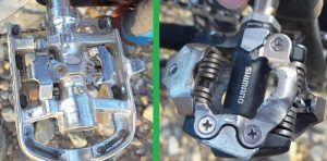 Pedales mixtos vs Pedales automáticos