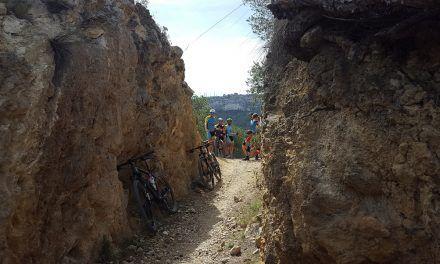 Crónica ruta MTB Molina Archena Villanueva Río Segura Ulea Ojós Ricote Camino Almeces Sendero del collado de la Madera Azud Ojós regreso por Lorquí