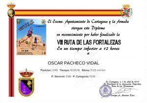 Diploma de Las Fortalezas en Cartagena por comunitario de Comunidad Biker Óscar