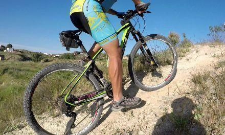 Vídeo | Ciclismo MTB BTT por Cabezo blanco y circuito Ribera entrenando técnica