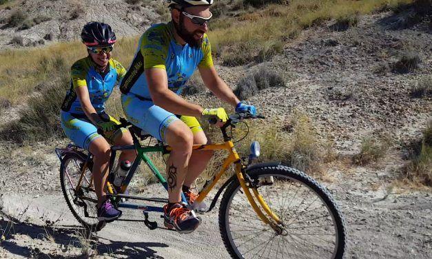 Crónica ruta MTB estrenando tándem casero por las Salinas de Molina de Segura