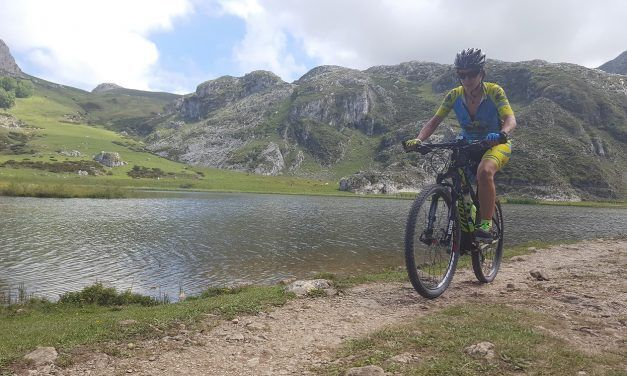Crónica ruta MTB Cangas Onís Santuario Covadonga Picos Europa Lagos Covadonga Enol y Ercina