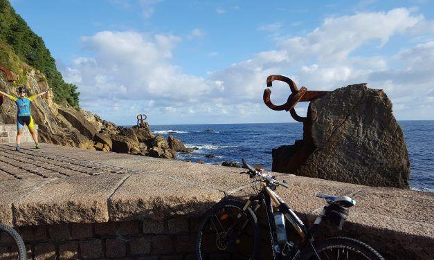 Crónica ruta MTB San Sebastián Donostia Monte Urgull Playa Concha Monte Igueldo