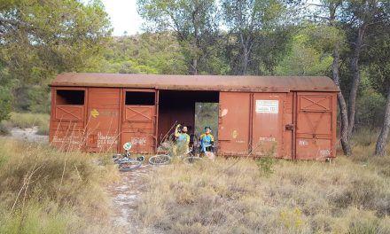 Crónica ruta MTB Molina Puerto Garruchal Senda del vagón y fin de la ruta por caída