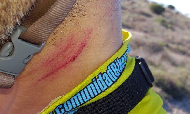 Qué NO hacer en un descenso de ciclismo de montaña MTB