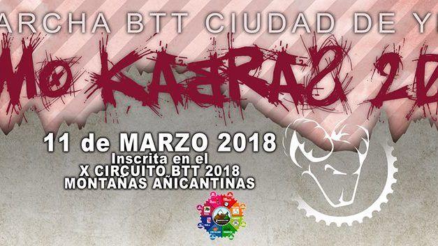 XI Marcha BTT Ciudad de Yecla Komokabras 2018