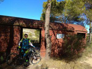 Comunitario Ángel en el Vagón por Comunidad Biker MTB