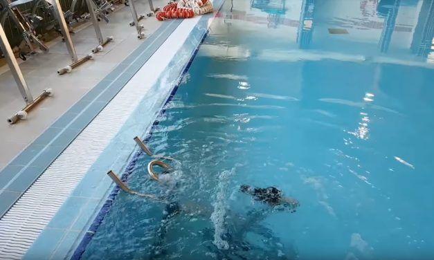 Mi primer encuentro con la natación y el agua