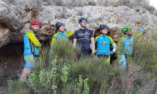 Crónica de la ruta MTB Molina Coto Cuadros por Madera Pelúa y Embalse de Santomera explorando nuevas cuevas