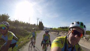 Ruta de ciclismo de carretera por trasvase en Murcia por Comunidad Biker MTB