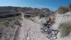 Ascenso del jamón de la rambla del Chorro por Kronxito a pie por Comunidad Biker MTB
