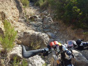 Pedregal en la Rambla de la Cerverosa y el Barranco Mulo por Comunidad Biker MTB